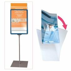 Экран защитный для рамки POS А5, размер 210х148,5 мм (код 290258, 290259, 290260, 290261), прозрачный, 290264
