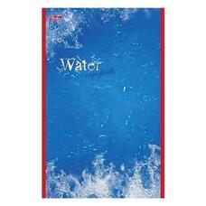 """Блокнот А5, 48 л., скоба, выборочный лак, HATBER, """"Water"""" (""""Вода""""), 135х205 мм, 48Б5вмB3 03976, B023235"""