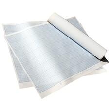 Бумага масштабно-координатная, формат 400х600 мм, синяя, ПМБ