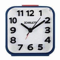 Часы-будильник SCARLETT SC-AC1014N, повтор сигнала, электронный сигнал, пластик, синие, SC - AC1014N
