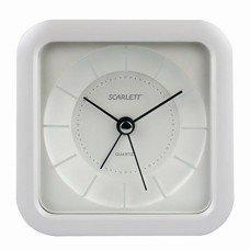 Часы-будильник SCARLETT SC-AC1006W, повтор сигнала, электронный сигнал, пластик, белые, SC - AC1006W