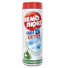 """Чистящее средство, 480 г, ПЕМОЛЮКС Сода-5, """"Антибактериальный"""", порошок, 1996176"""