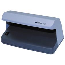 Детектор банкнот DORS 115, просмотровый, УФ-детекция, серый, SYS-033271