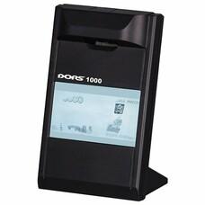 """Детектор банкнот DORS 1000 М3, ЖК-дисплей 10 см, просмотровый, ИК-детекция, спецэлемент """"М"""", черный, FRZ-022087"""