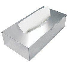 Диспенсер для косметических салфеток KSITEX (Система F1), настольный, нержавеющая сталь, зеркальный, РВ-28S