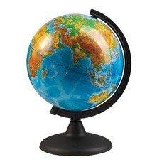 Глобус физический, диаметр 210 мм