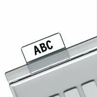 Индексные окна для картотечных разделителей