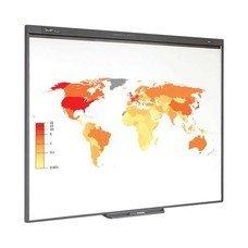 """Интерактивная доска 77"""" SMART Board SB480, оптическая, 157х117 см, 4:3, USB, 2 пользователя (NOTEBOOK последняя версия)"""
