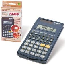 Калькулятор STAFF инженерный STF-310, 10+2 разряда, двойное питание, 142х78 мм