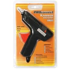 Клеевой пистолет PROCONNECT, 60 Вт, для стержня 11 мм, в блистере, 12-0104