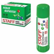 Клей-карандаш STAFF, 10 г, новая формула, 225000