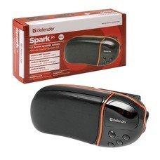 Колонка портативная DEFENDER Spark M1, 1.0, 6 Вт, FM-тюнер,1 порт USB, MP3-плеер, пластик, черная, 65543