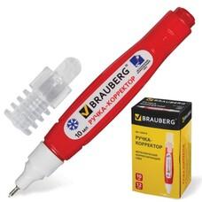Ручка-корректор BRAUBERG, 10 мл, металлический наконечник, 220618