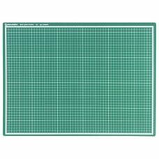 Мат для резки BRAUBERG, А2, 600х450 мм, двусторонний, 3-слойный, толщина 3 мм, сантиметровая шкала, 236903