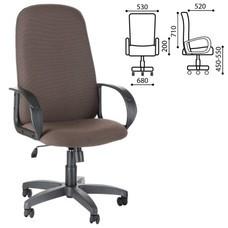 """Кресло офисное """"Фаворит"""", СН 279, высокая спинка, с подлокотниками, коричневое"""