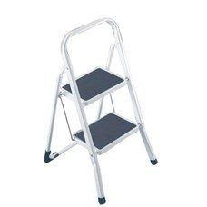 Лестница-стремянка ARNO, 46 см, 2 прорезиненные ступени 20х30 см, стальная, нагрузка до 150 кг, 4396-90