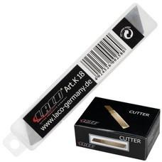 Лезвия для ножей 18 мм LACO, комплект 10 шт., толщина лезвия 0,5 мм, в пластиковой тубе, K 18