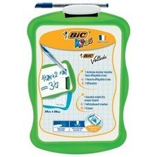 """Доска маркерная BIC """"Velleda"""", 200*310 мм, двусторонняя, с маркером и стирателем, 841362"""