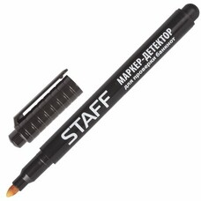 Маркер-детектор для проверки подлинности банкнот, STAFF, блистер, 151232