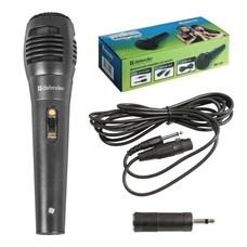 Микрофон DEFENDER MIC-129, проводной, кабель 5 м, черный, 64129