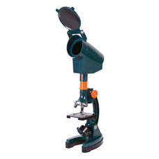 Микроскоп детский LEVENHUK LabZZ M3, 300-1200 кратный, монокулярный, 3 объектива, проектор, 69741