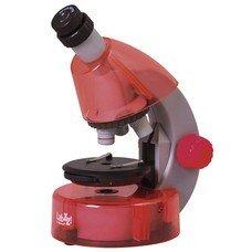 Микроскоп детский LEVENHUK LabZZ M101 Orange, 40-640 кратный, монокулярный, 3 объектива, 69730