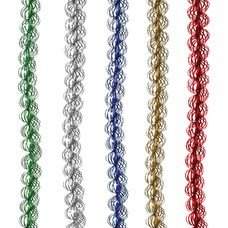 "Гирлянда ""Спираль"", 1 штука, диаметр 20 мм, длина 2 м, ассорти 5 цветов, Г-216"
