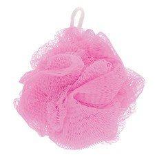 """Мочалка для тела, нейлон, 42 г (11х11х11 см), розовая, """"Шар Макси"""", TIAMO """"Original"""", 12629"""