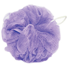 "Мочалка для тела, нейлон, 32 г (9х9х9 см), фиолетовая, ""Шар"", TIAMO ""Original"", 12626"