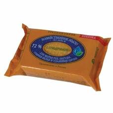 """Мыло хозяйственное 72%, 150 г (ЭФКО) """"Традиционное"""", с глицерином, в упаковке, 80398"""