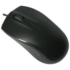 Мышь проводная SONNEN М-201, USB, 1000 dpi, 2 кнопки + колесо-кнопка, оптическая, черная
