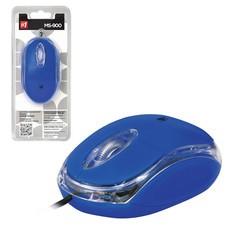 Мышь проводная DEFENDER MS-900, USB, 2 кнопки + 1 колесо-кнопка, оптическая, синяя, 52902