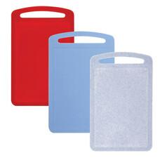 Доска разделочная пластиковая, 0,8х19,5х31,5 см, цвет ассорти, IDEA, М 1573