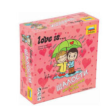 """Игра настольная детская карточная """"Love is…Шалости"""", в коробке, ЗВЕЗДА, 8956"""