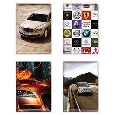 Обложка для автодокументов c фотопечатью, ПВХ, дизайн ассорти, А5-15