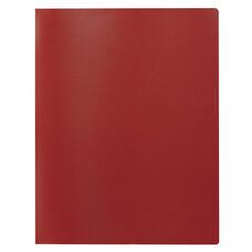 Папка на 2 кольцах STAFF, 40 мм, красная, до 250 листов, 0,5 мм, 225722
