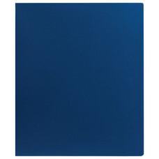 Папка на 2 кольцах STAFF, 40 мм, синяя, до 250 листов, 0,5 мм, 225720