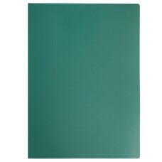 Папка на 2 кольцах STAFF, 21 мм, зеленая, до 80 листов, 0,5 мм, 225719