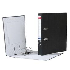 """Папка-регистратор ERICH KRAUSE, с мраморным покрытием, """"содержание"""", 50 мм, черный корешок, 4671"""
