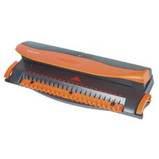 Переплетная машина BRAUBERG BM-4 для пластиковой пружины + ДЫРОКОЛ на 4 отверстия, пробитие 4 л., сшивка до 50 л., 531585