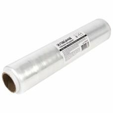 Пленка пищевая ПЭ 300 мм х 200 м, гарантированная длина, белая, 6 мкм, вес 0,45 кг +-5%, ЛАЙМА