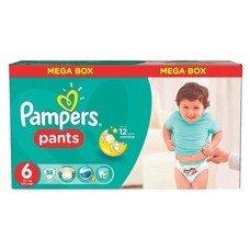 Подгузники-трусики 88 шт., PAMPERS (Памперс) Pants, размер 6 (16+ кг), PA-81554756