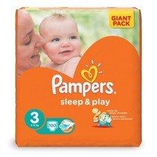 "Подгузники 100 шт., PAMPERS (Памперс) ""Sleep&Play"", размер 3 (4-9 кг)"