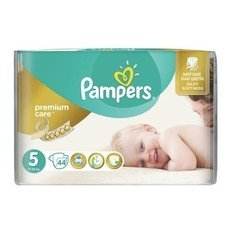 "Подгузники 44 шт., PAMPERS (Памперс) ""Premium Care"", размер 5 (11-18 кг), PA-81610047"