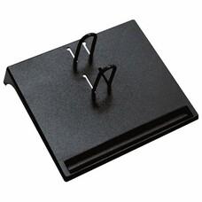 Подставка для календаря малая СТАММ, 175х205х37 мм, черная, ПК21