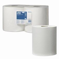 Бумага протирочная TORK (Система W1, W2), комплект 2 шт., Universal, 800 листов в рулоне, 33х25,5 см, 2-слойная, 509253