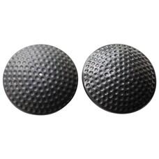 """Датчики противокражные, радиочастотные, комплект 500 шт., """"Golf Tag"""", 64 мм, 8,2 МГц, усиленнный замок, черные, А-0030"""