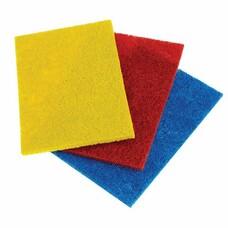 Салфетки абразивные, 13 х 9 х 0,5 см, комплек 3 шт., для удаления стойких загрязнений, ЛАЙМА, К6013