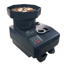 Счетчик монет CASSIDA C550, 2300 монет/мин, загрузка 3000 монет, отбор и подсчет монет одного номинала