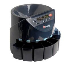 Счетчик-сортировщик монет CASSIDA C100, 250 монет/мин, загрузка 1600 монет, 8 приемных лотков